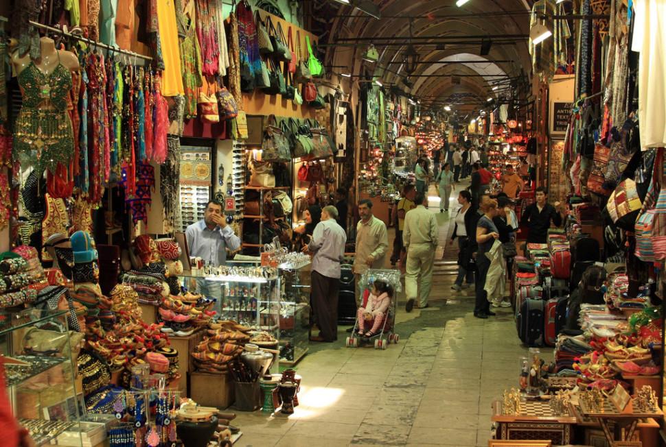 Veľký bazar v Istanbule